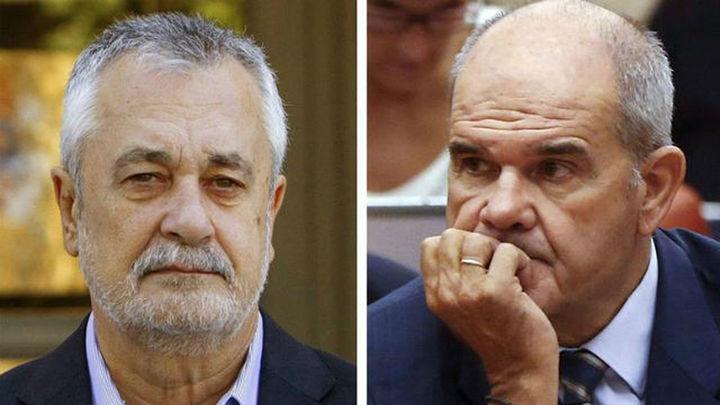 Chaves y Griñan se enfrentan a partir de este miércoles al juicio por los ERE de Andalucía