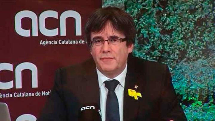 """Puigdemont: """"A lo mejor vale la pena ser investido antes de ser detenido"""""""