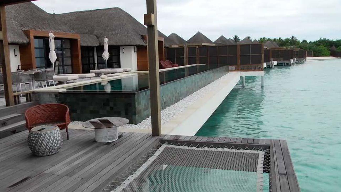 Casas de ensueño sobre el agua en la Maldivas