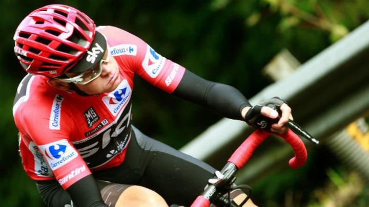 Froome, positivo por dopaje durante la Vuelta a España 2017