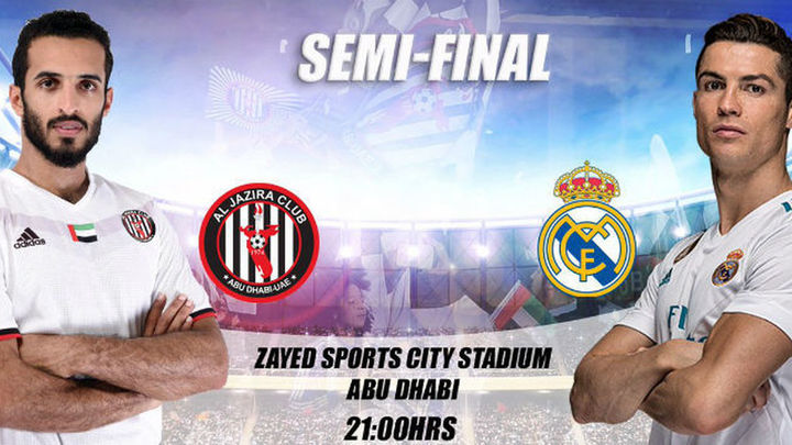 El anfitrión Al Jazira, primer paso de un nuevo reto del Real Madrid