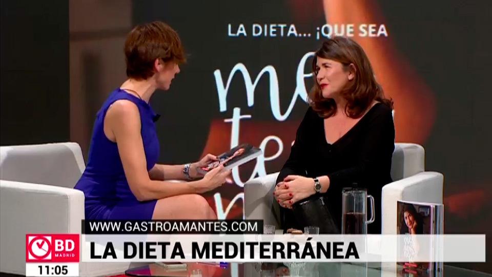 'La dieta mediterránea', el libro de Margarita García
