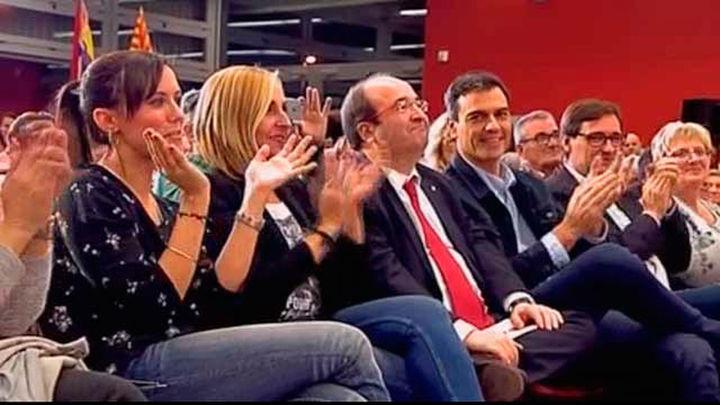 """Sánchez pide votar a Iceta para que ganen """"los olvidados"""" de Puigdemont"""