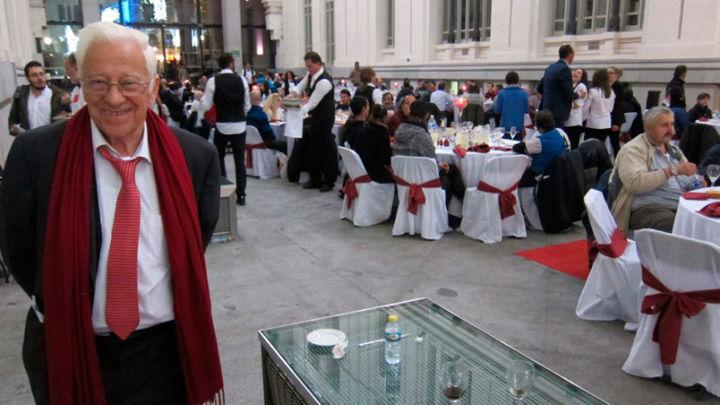 El chef Martín Berasátegui elabora el menú de Nochebuena de Mensajeros de la Paz