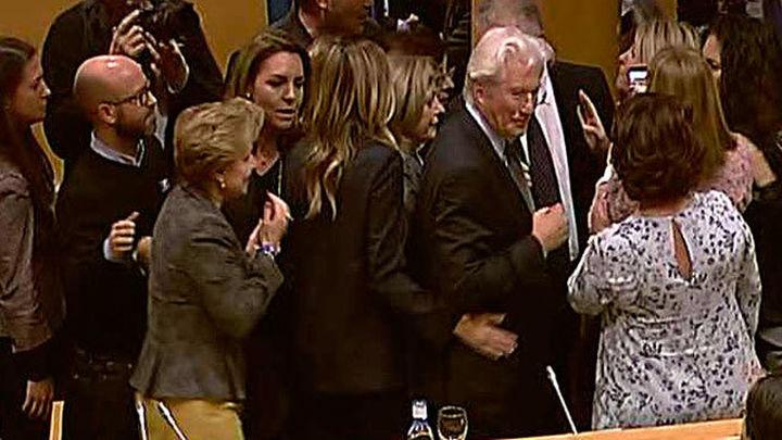 Revuelo en el Senado por la presencia de Richard Gere