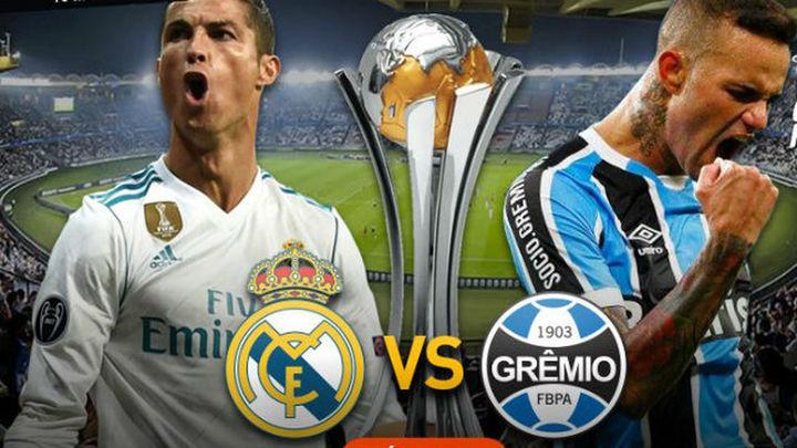 Segunda vez que el Real Madrid luchará por título universal ante un rival brasileño