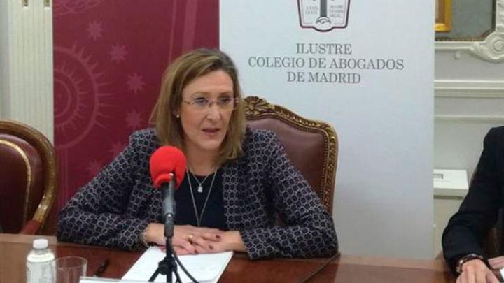 Agreden a la decana del Colegio de Abogados de Madrid en la jornada electoral
