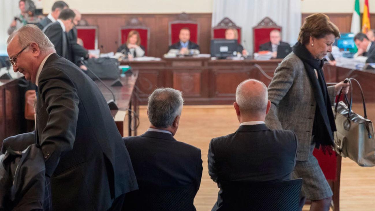 Lectura de los escritos de defensa en el juicio contra Chaves y Griñán por los ERE
