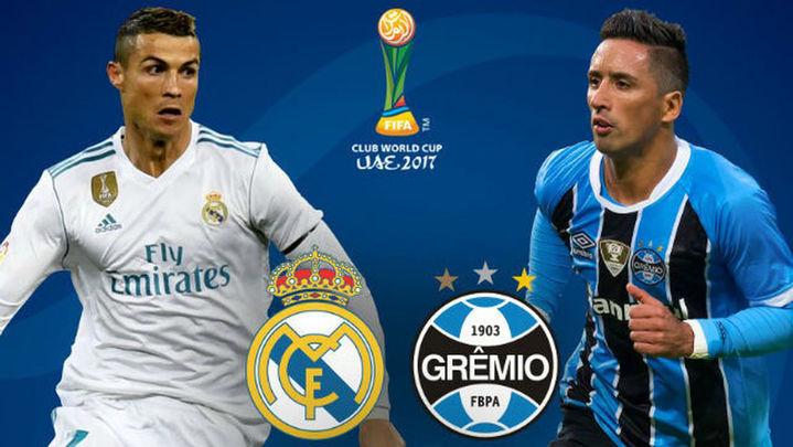 El Real Madrid pone en juego la corona mundial ante el Gremio