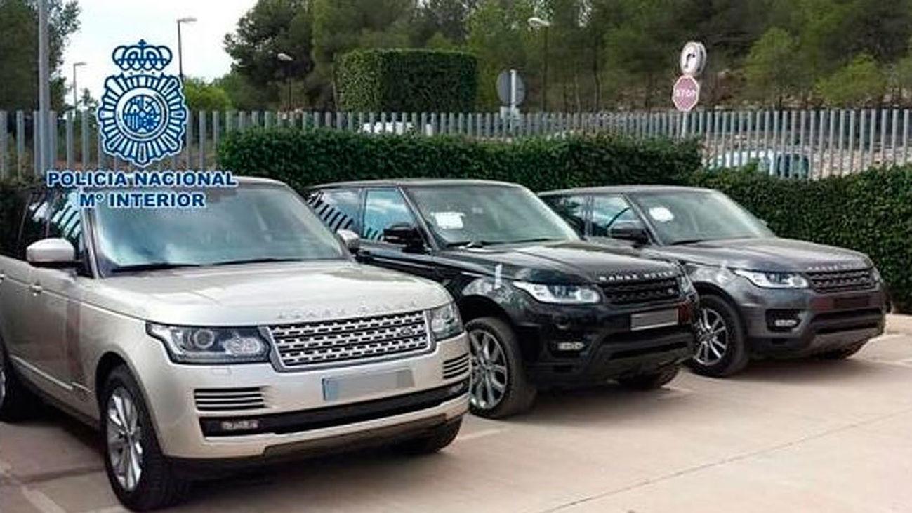 Desmantelada una banda que vendía en España coches robados en países europeos