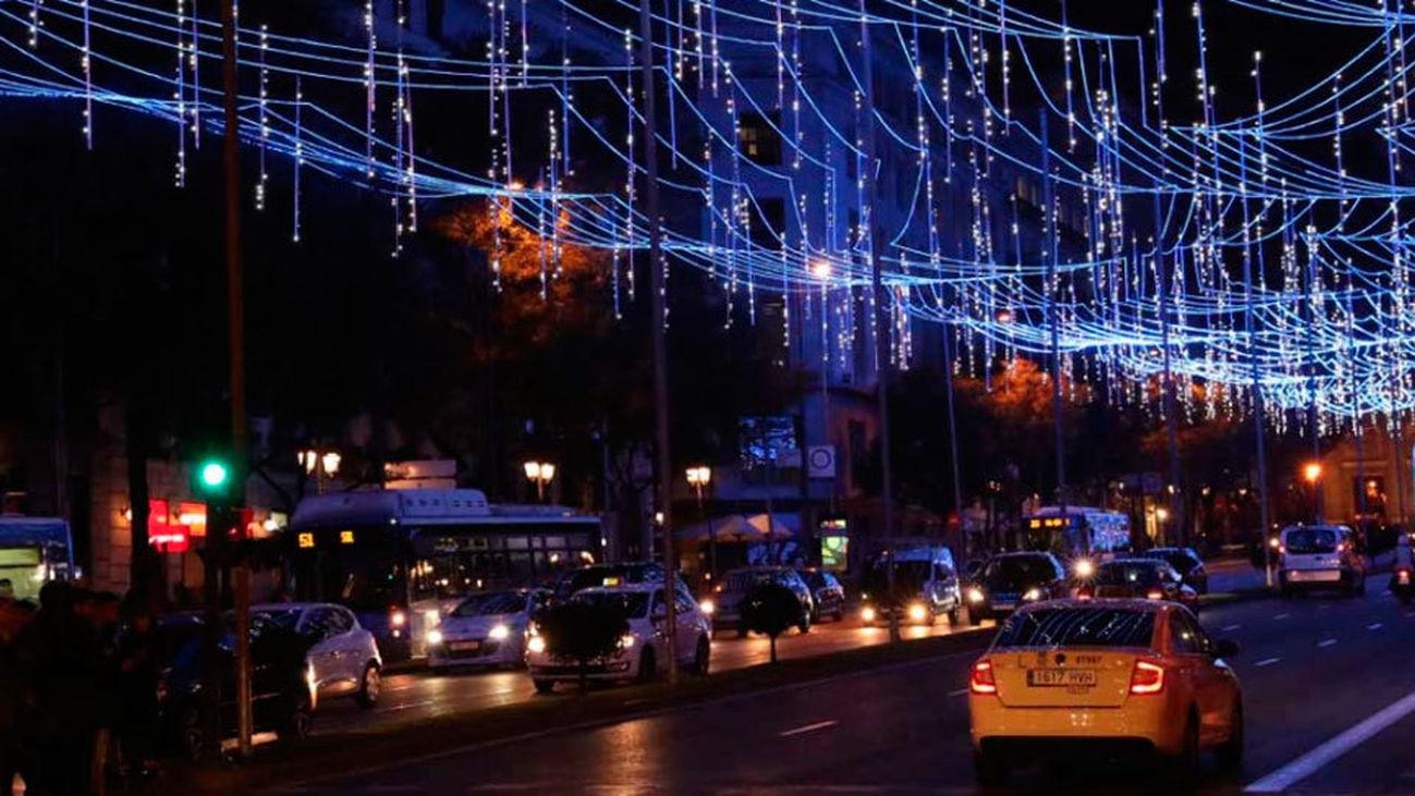 Los taxistas madrileños aconsejan planificar recorridos durante las Navidades