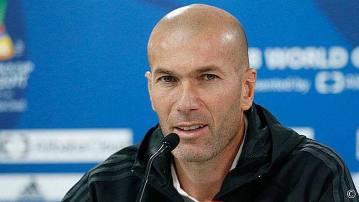 """Zidane: """"Tenemos la ilusión de llevar a casa otro título"""""""