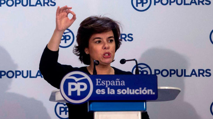 """Santamaría dice que Rajoy dejó a  ERC y JuntsxCat sin líderes: """"Están descabezados"""""""