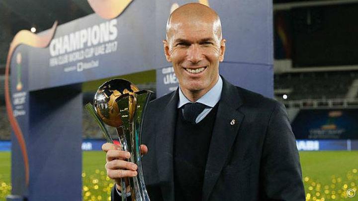 """Zidane: """"No me imaginaba ganar tantos títulos en tan poco tiempo"""""""