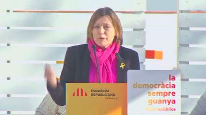 """Forcadell dice que Santamaría confirma  con sus declaraciones que hay """"presos políticos"""""""