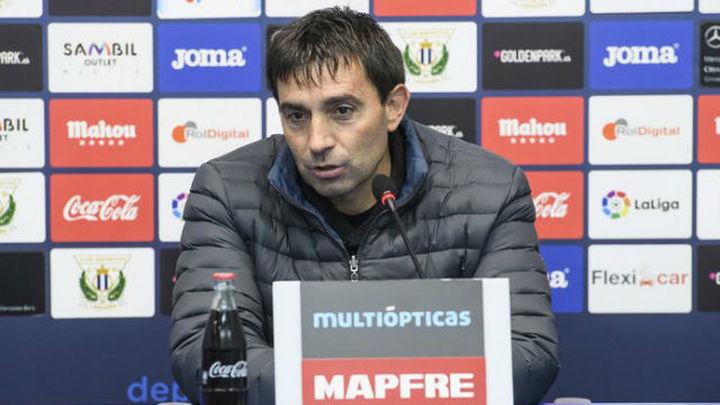 """Garitano: """"Primero conseguir el objetivo, luego hablaré primero con el Leganés"""""""