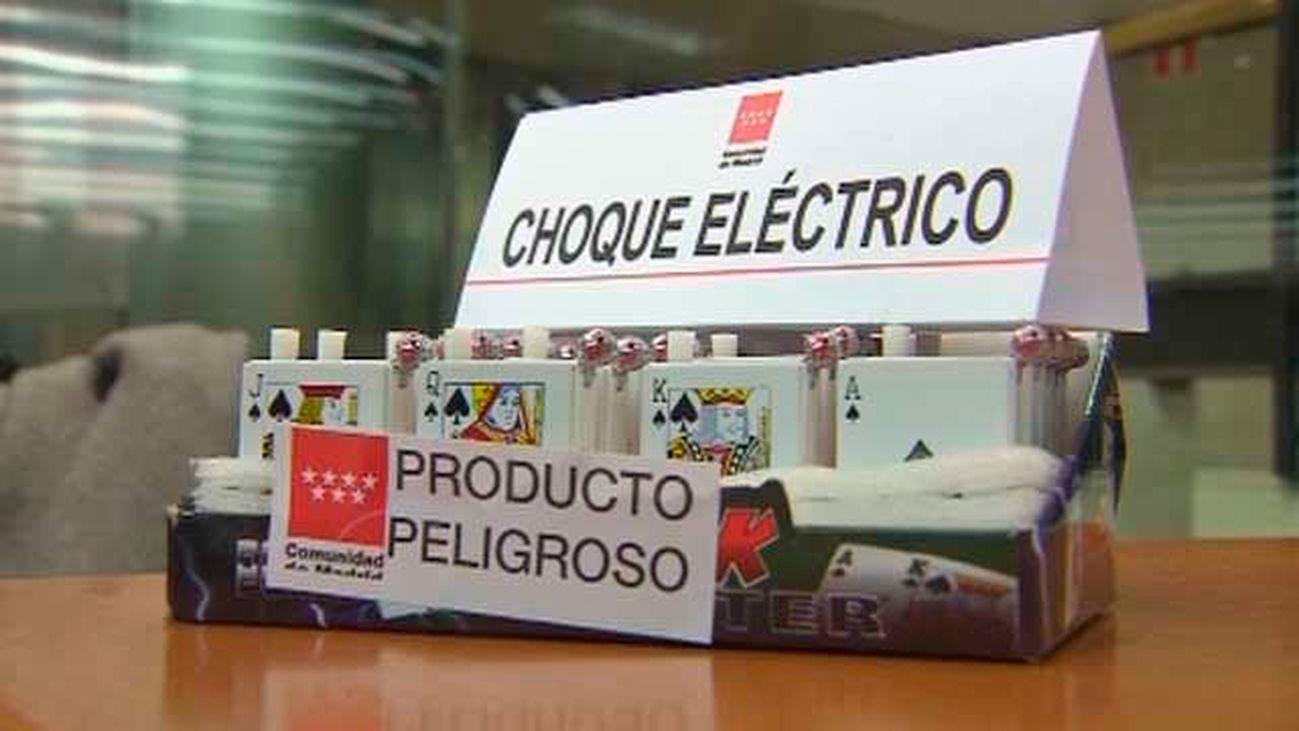 La Comunidad retira 15.000 unidades de productos peligrosos en Navidad