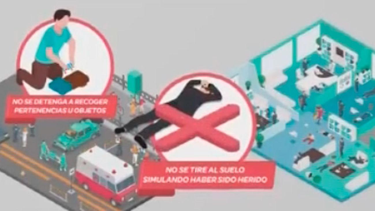 Interior lanza una campaña con consejos de autoprotección contra el terrorismo