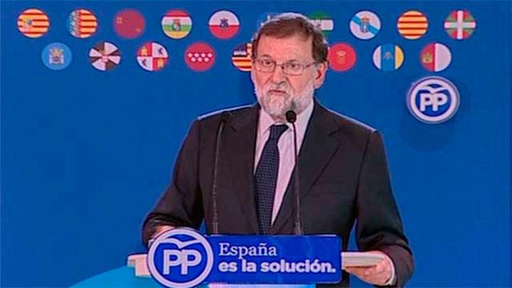 """Rajoy: """"No es posible una alternativa sin un PP fuerte"""""""