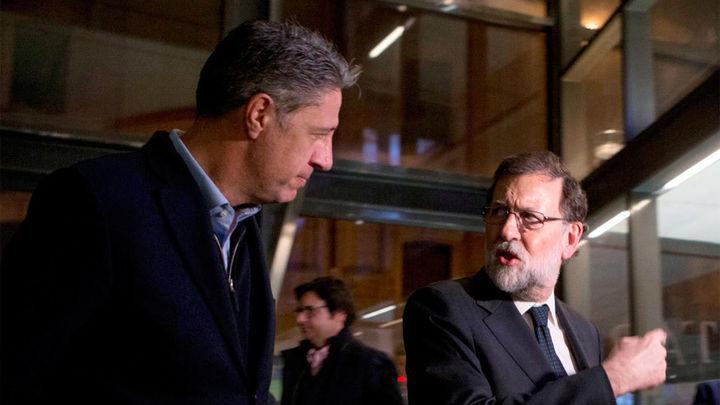 Rajoy pide el voto en Girona junto con Albiol para lograr un PP fuerte