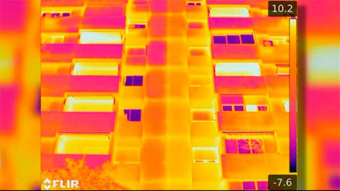 Inpección termográfica de edificios