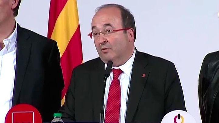 Iceta afirma que el independentistmo puede gobernar pero debe abandonar la unilateralidad