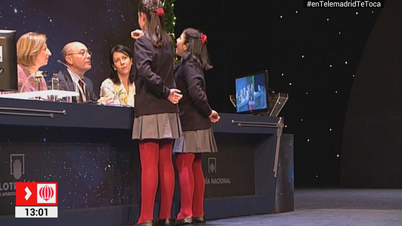 Vídeo del 13378, primer cuarto premio del Sorteo de Lotería de Navidad 2017