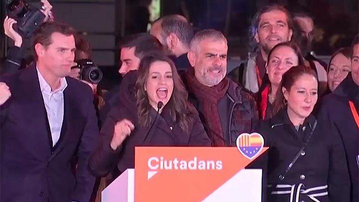Arrimadas: Hemos votado unión y convivencia, pese a la mayoría secesionista