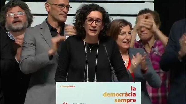 """Rovira afirma que catalanes han votado """"república"""" aunque ERC no haya ganado"""