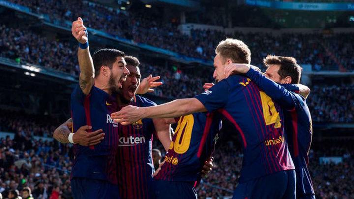 0-3. Golpe a la Liga: El Barcelona asalta el Bernabéu