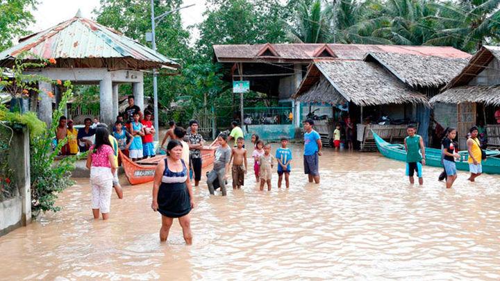 Al menos 133 muertos por la tormenta Tembin en el sur de Filipinas