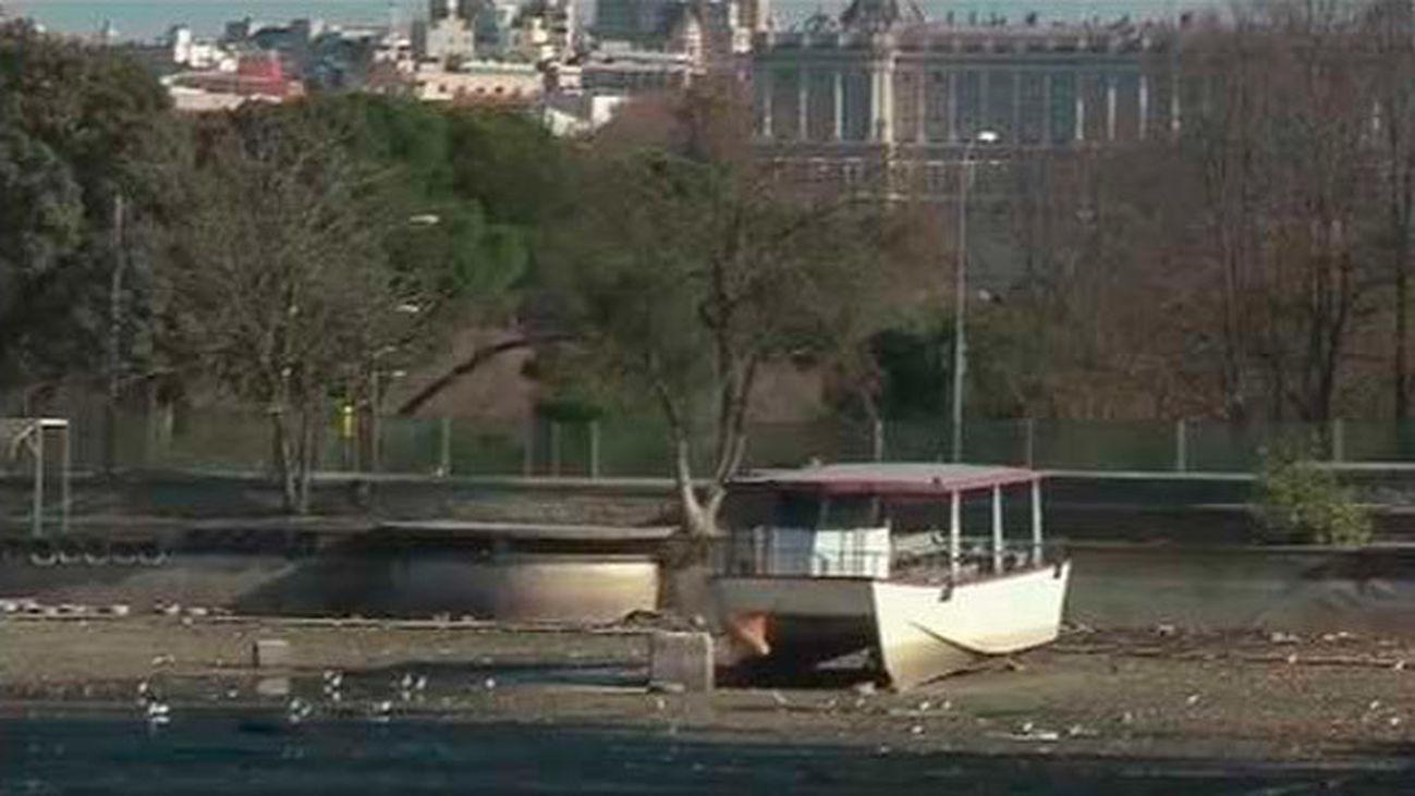 El Lago de la Casa de Campo ya no tiene agua