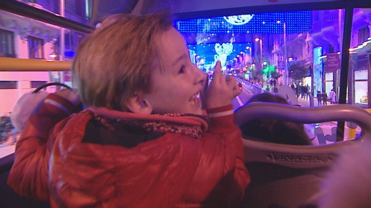 La magia de la Navidad a bordo del Naviluz