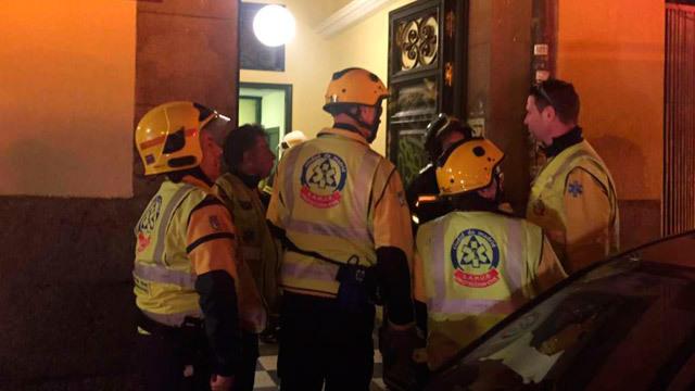 Accidente en ascensor en Travesía Conde Duque