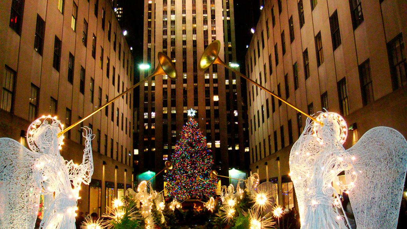 Madrileños por el Mundo vive la Navidad en Nueva York