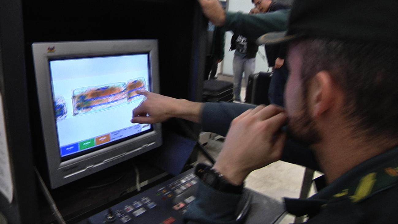 El Control de Aduanas de Barajas, toda una caja de sorpresas
