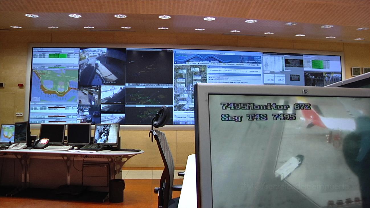 Telemadrid accede de forma exclusiva al Centro de Gestión del Aeropuerto