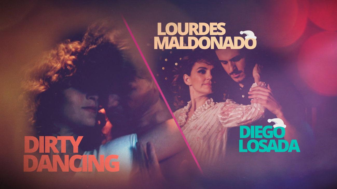 """Lourdes Maldonado y Diego Losada dejan sin palabras con su """"'Dirty Dancing"""""""