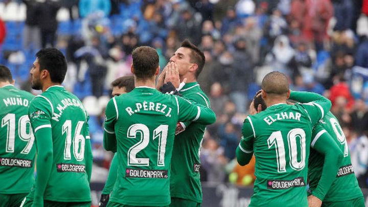 1-0. El Leganés no renuncia a soñar con el nuevo año