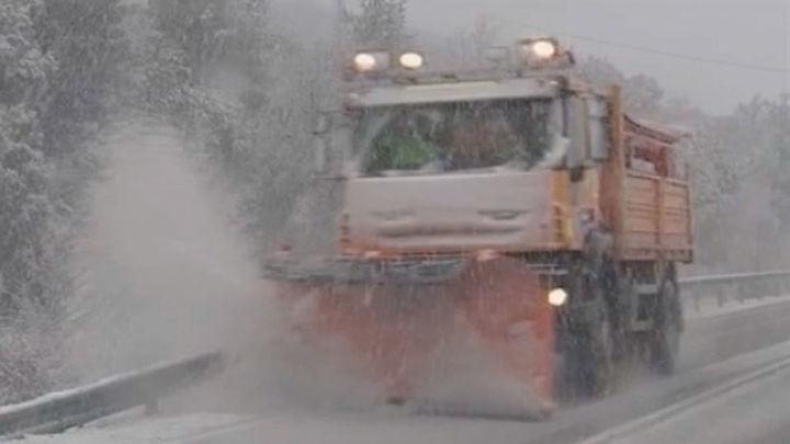Alerta en Madrid por temperaturas de -8º en la Sierra y -4º en el resto esta madrugada