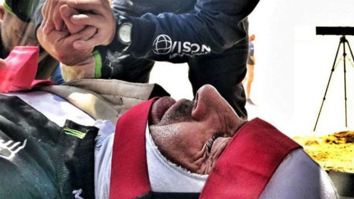 Nani Roma abandona el Dakar por un traumatismo craneal
