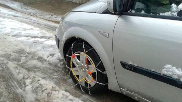 Tráfico estudia regular por ley el equipamiento de vehículos en caso de nevadas