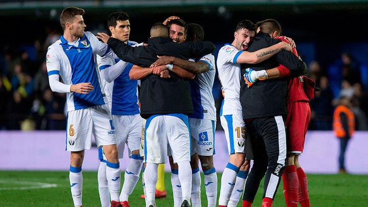 2-1. El Leganés hace historia en la Copa