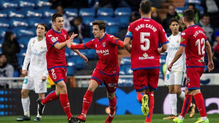 2-2. El Numancia sonroja al Madrid