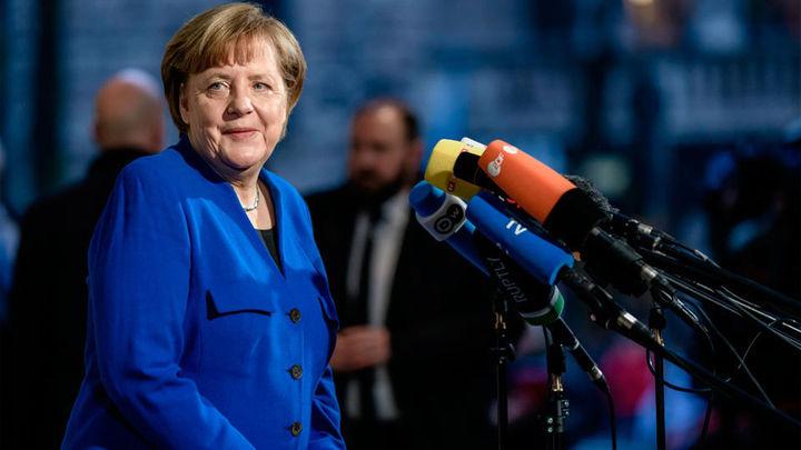 Principio de acuerdo entre Merkel y Schulz para una futura gran coalición