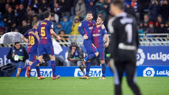 El Barcelona ante la Real Sociedad