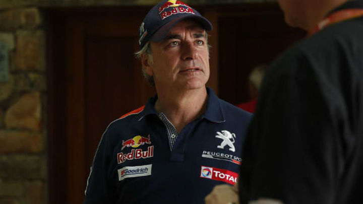 Carlos Sainz, sancionado con 10 minutos