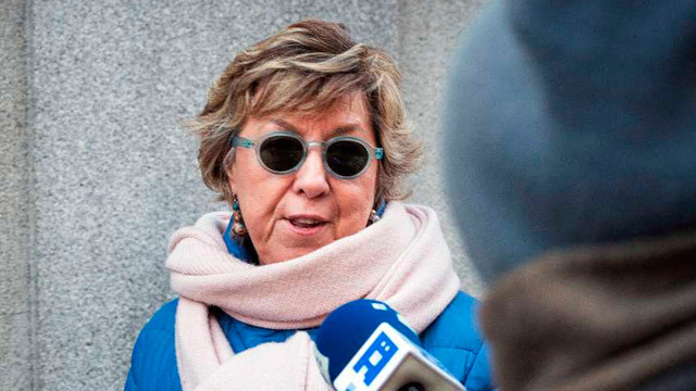 Senadora del PP y exalcaldesa de Cartagena Pilar Barreiro en el Tribunal Supremo