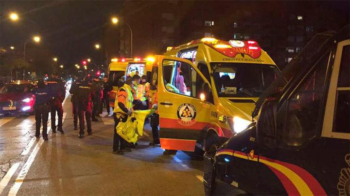 Herido grave un seguidor del Atlético apuñalado cerca del Metropolitano