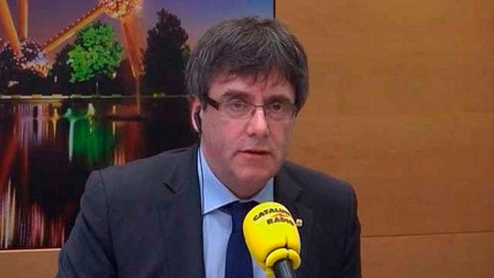 Puigdemont dice que puede ser president desde Bruselas, pero no desde prisión